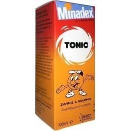 Seven Seas Minadex Tonic Πολυβιταμιχούχο Σιρόπι,περιέχει σίδηρο, βιοτίνη, βιταμίνες Β1, Β2, Β6 & Νιασίνη
