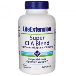 LIFE EXTENSION SUPER CLA BLEND 1000mg 120 softgels