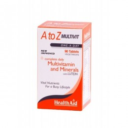 Health Aid A to Z Multivit One A Day 90 Tabs