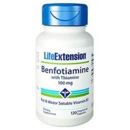 Benfotiamine with Thiamine 100mg 120 φυτικές κάψουλες