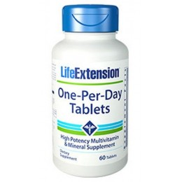 Life extension ONE-PER-DAY 60vcaps