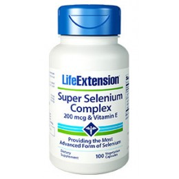 Life Extension Super Selenium Complex 100caps