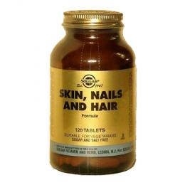 Solgar Skin Nails And Hair Formula Για Μαλλιά, Δέρμα, Νύχια 120 Tabs
