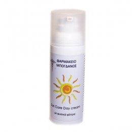 Sun Care Day cream με φυσικά φίλτρα Φυτικά αντηλιακά - λάδια